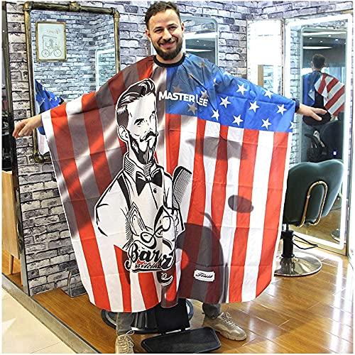 Capas para Peluqueria, Capa de Barbero Profesional, Capas de Corte Peluqueria Impermeable de Cuerpo Entero para Peinado, Cortes y Colores