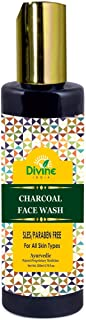 Divine India Charcoal Face Wash, 200ml