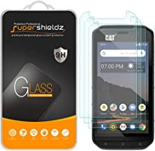 (3 Pack) Supershieldz for Cat S48c Tempered Glass Screen Protector, Anti Scratch, Bubble Free