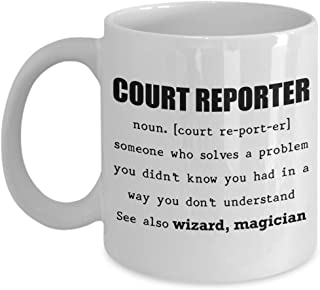 court reporter gifts