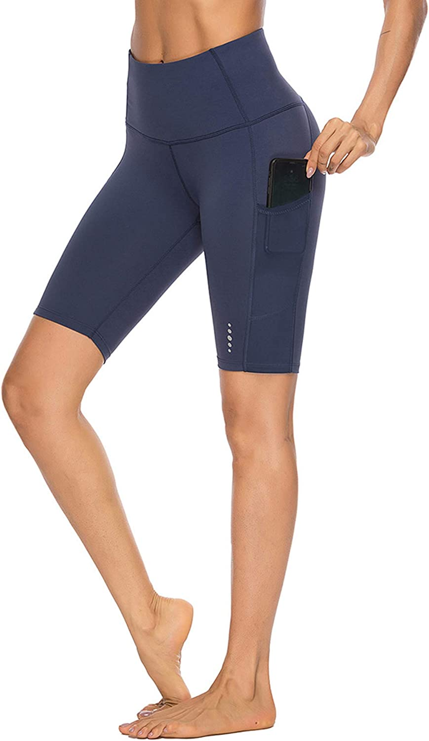 Popular shop is the lowest price challenge FeelinGirl Womens Black High Waist Pants with Leggings Chicago Mall Pock Yoga
