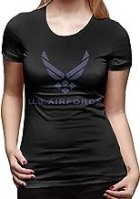 U are Friends Air Force Logo Mujer Camiseta de Manga Corta ...