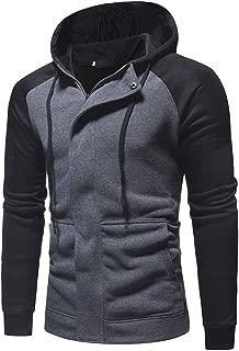 lexiart Mens Fashion Hoodies Zip Up - Athletic Jacket Slim Fit Coat