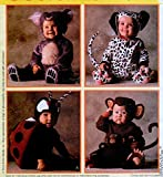 McCall's 8897 Infant/Baby Monkey, Lady Bug, Bear and Dalmatian Costume Sewing...