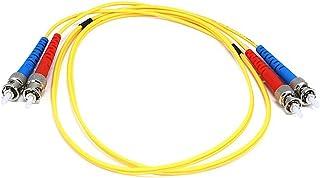 Aqua Monoprice 106387 3-Meters LC//LC Multi Mode Duplex 10GB Fiber Optic Cable
