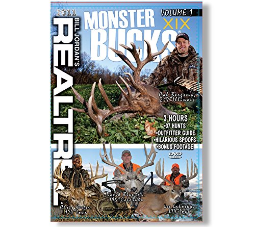 Realtree Monster Bucks XIX Volume 1- Deer, Elk, Big Game, Hunting Video DVD Collection Production (XIX - Volume 1)
