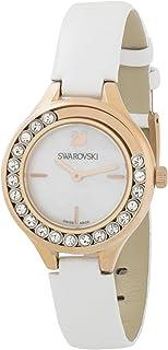 Swarovski Womens Quartz Watch, Analog Display and Leather Strap 5242904