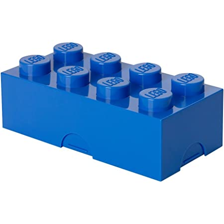 LEGO 4023 - Caja de almuerzo, color azul, 200 x 100 x 75 mm