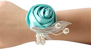 tiffany blue wrist corsage