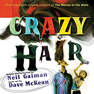 Crazy Hair audiobook cover art