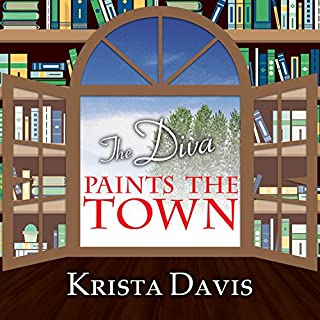The Diva Paints the Town audiobook cover art