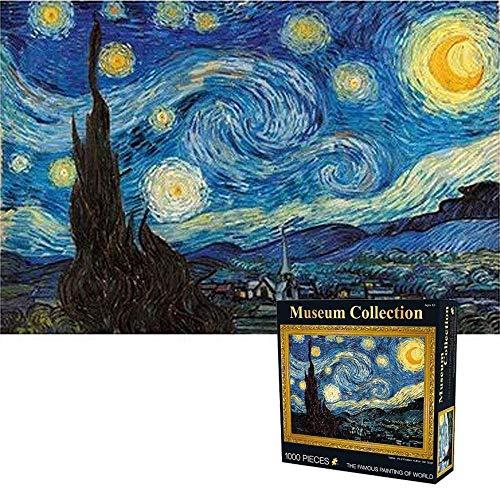 Noche Estrellada de Vincent Van Gogh Rompecabezas de Papel 1000 Piezas