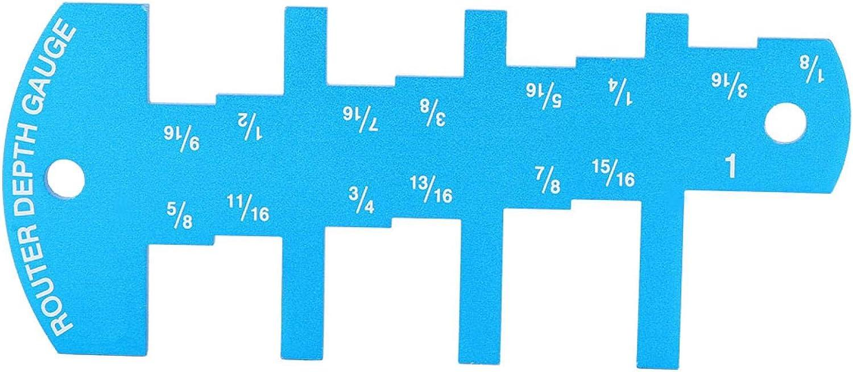 Router Depth Ranking TOP15 Gauge Aluminum Alloy Convenient Height Limit Sale special price