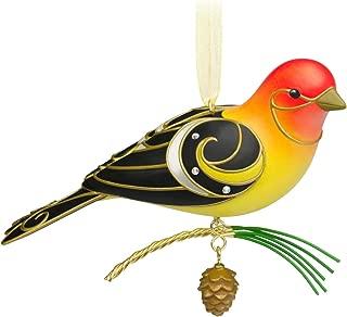 Hallmark Keepsake Ornament Beauty of Birds Western Tanager