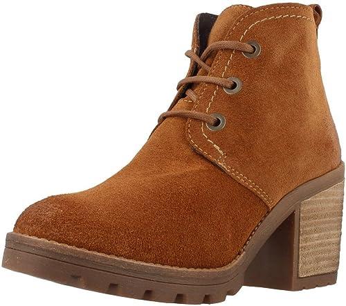 HANGAR Bottines - bottes, bottes, bottes, Couleur Marron, Marque, modèle Bottines - bottes 6814 ANDREIA Marron bcf