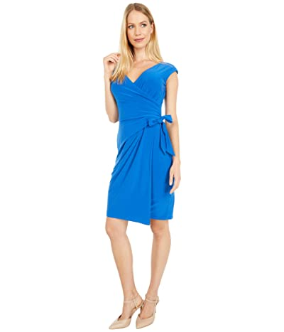 LAUREN Ralph Lauren Saida Cap Sleeve Day Dress Women
