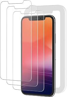 NIMASO iPhone11 Pro Max/Xs Max(6.5 インチ)用 ガラスフィルム【ガイド枠付き】(アイフォン11 Pro Max/Xs max 用 保護フィルム )3枚セット