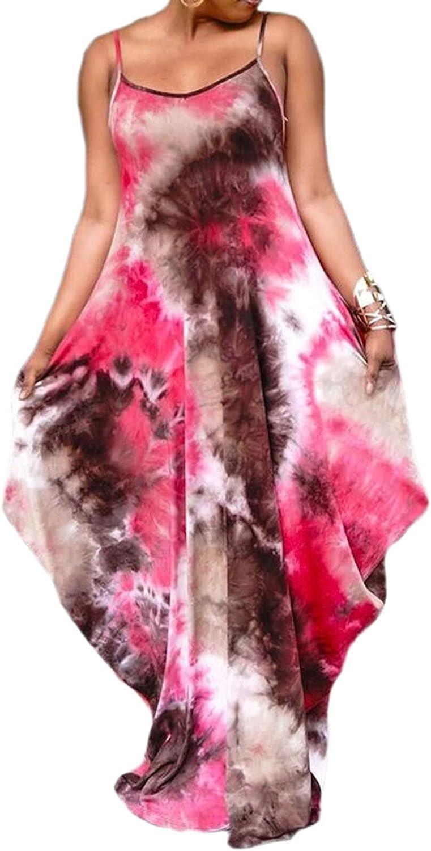 LaiyiVic Women's Detroit Mall Casual Maxi Seattle Mall Dresses Stripe Sexy Summer Bodycon