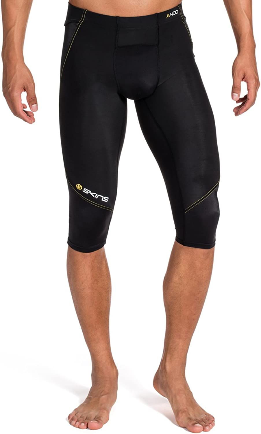 Skins A400 Men's Compression 3 4 Tights