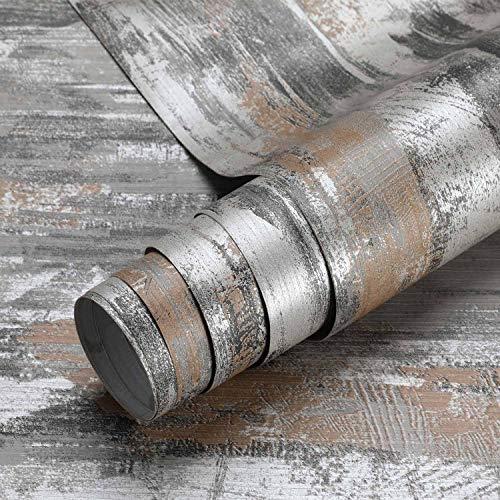 iKINLO Zenment - Lámina adhesiva decorativa para muebles de cocina, de PVC, sin olor, para pared o cocina