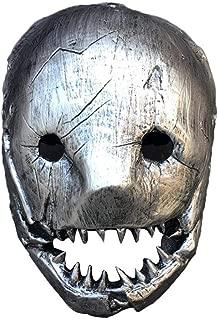 ORANGELD Mask-2019 2020 Halloween Killer Horror Game White Butcher Cosplay Mask Props Party Full Face Mask Halloween Cosplay Party Mask,Szseven