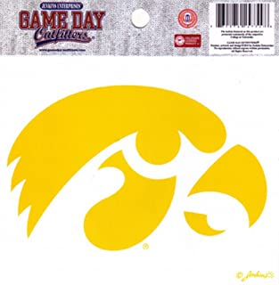 NCAA Iowa Hawkeyes Small Window Decal/Stickers