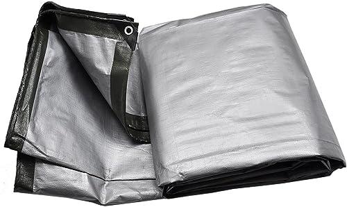 INTER FAST Tissu de bache de prougeection extérieur en toile de bache épaisse pare-soleil en tissu anti-pluie épaissi Bache (Taille   6X8M)