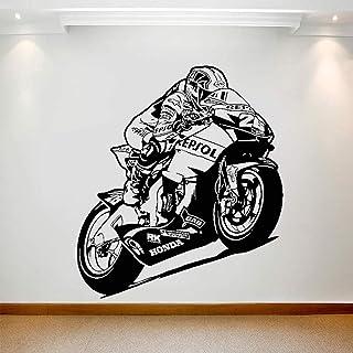 GADGETS WRAP Wall Sticker Race Motorcycle Window Decals Auto Bike Racing Art Mural for Home Bedroom
