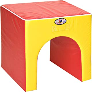 Foamnasium Tunnel, Red/Yellow
