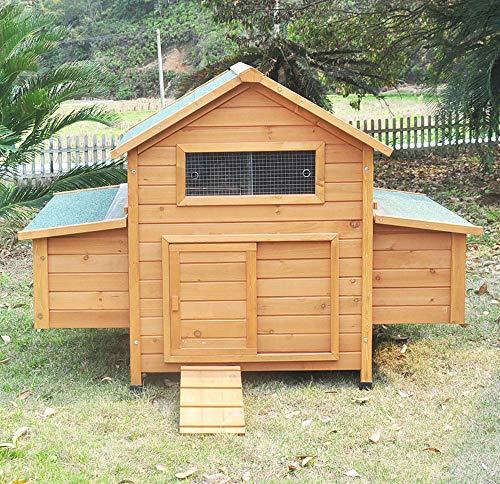 """Hühnerstall Hühnerhaus Chickenhouse Nr. 02 """"Gluckshaus"""" mit legebox und Wanne - 3"""