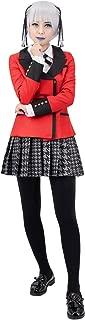 Kakegurui Kirari Momobami Cosplay Costume Girls Japanese School Uniform