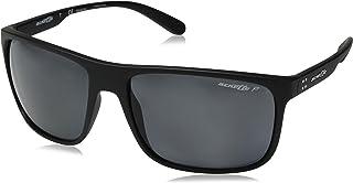 نظارات شمسية بعدسات مستقطبة للرجال من راي - بان، اسود دون لمعة/  بولارغري، 62 (0AN4244 01/81 62 01/81)