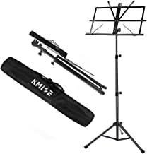 Music Sheet Stand Foldable Holder Tripod Base Metal for Student Practice From Kmise
