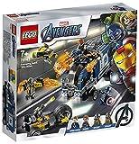 LEGO 76143 SuperHeroes Vengadores:DerribodelCamión, Juguete de Construcción