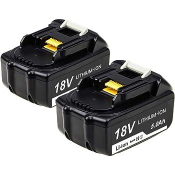 2x 18V 4.0AH Li-ion Akku Für Makita BL1860 BL1850 BL1840 BL1830 BL1815 LXT400