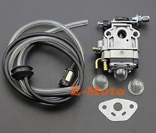 scooter 2 Stroke Carburetor Gasket Fuel Line With Primer Bulb For Kragen Zooma 23 25 26 33 36 CC Gas Pocket Bike 10mm Carb
