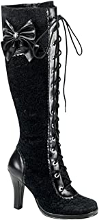Demonia by Pleaser Women's Glam-240 Lace-Up Boot