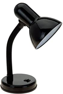 طراحی ساده خانه LD1003-BLK لامپ میز، سیاه