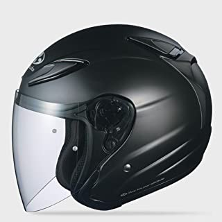 Kabuto Solid Adult Avand II Cruiser Motorcycle Helmet - Flat Black/X-Small