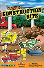 Create-A-Scene Magnetic Playset - Construction Site