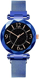 Watch,Becoler Ladies Watch Starry Sky Women Bracelet Watches Magnetic Stainless Wristwatche