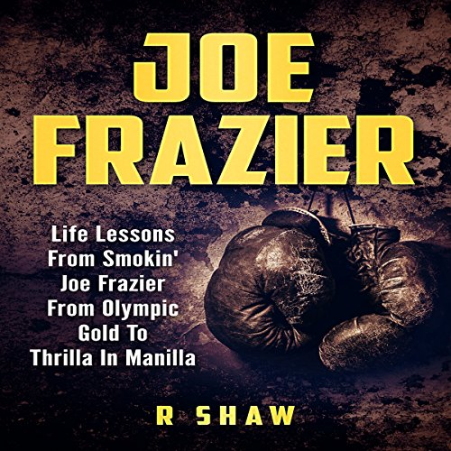 Joe Frazier audiobook cover art