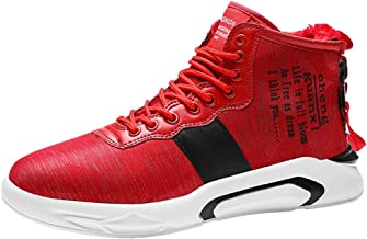 Sneakers For Men Teens Trend High-top Basketball Shoes Students Air Cushion Casual Sports Running Shoes By God's pens
