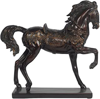 Timeless Reflections by AFD Home 10544706 Aged Walnut Horse Decorative Accent Piece