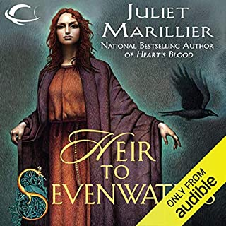 Heir to Sevenwaters audiobook cover art