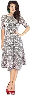 silver dress plus size