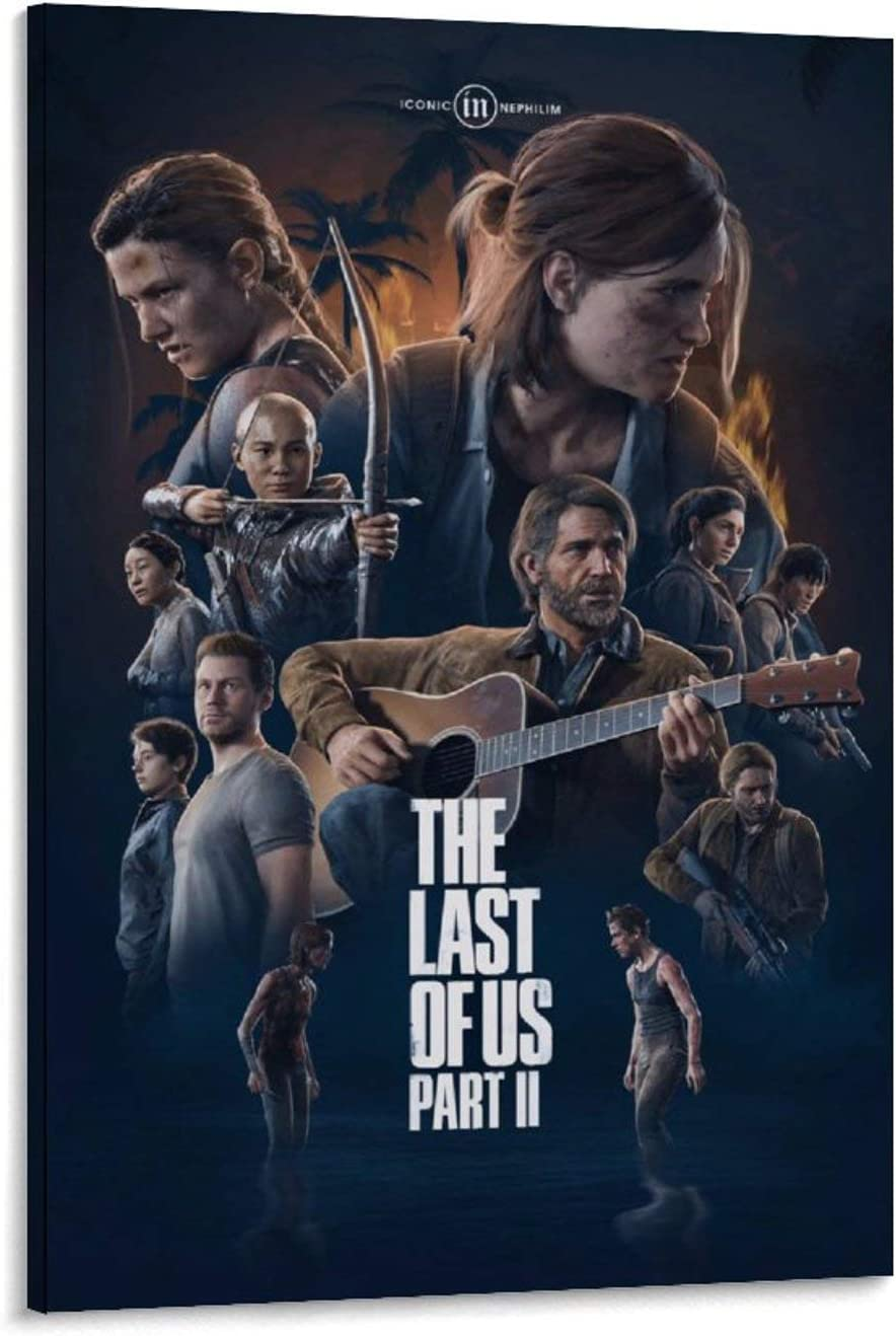 Poster 2021 spring and summer new The Last of Us 2 Sacramento Mall P Wall Canvas Picture Art