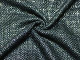 Minerva Crafts Kleiderstoff aus metallischem Bouclé-Tweed,