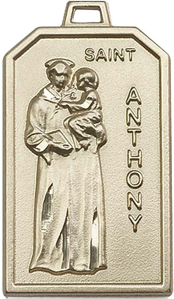 14kt Gold St. Gifts Anthony Medal. Patron Articles Lost of Saint Poor Direct sale of manufacturer