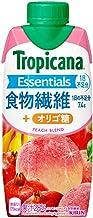 トロピカーナ エッセンシャルズ 食物繊維 330ml ×12本